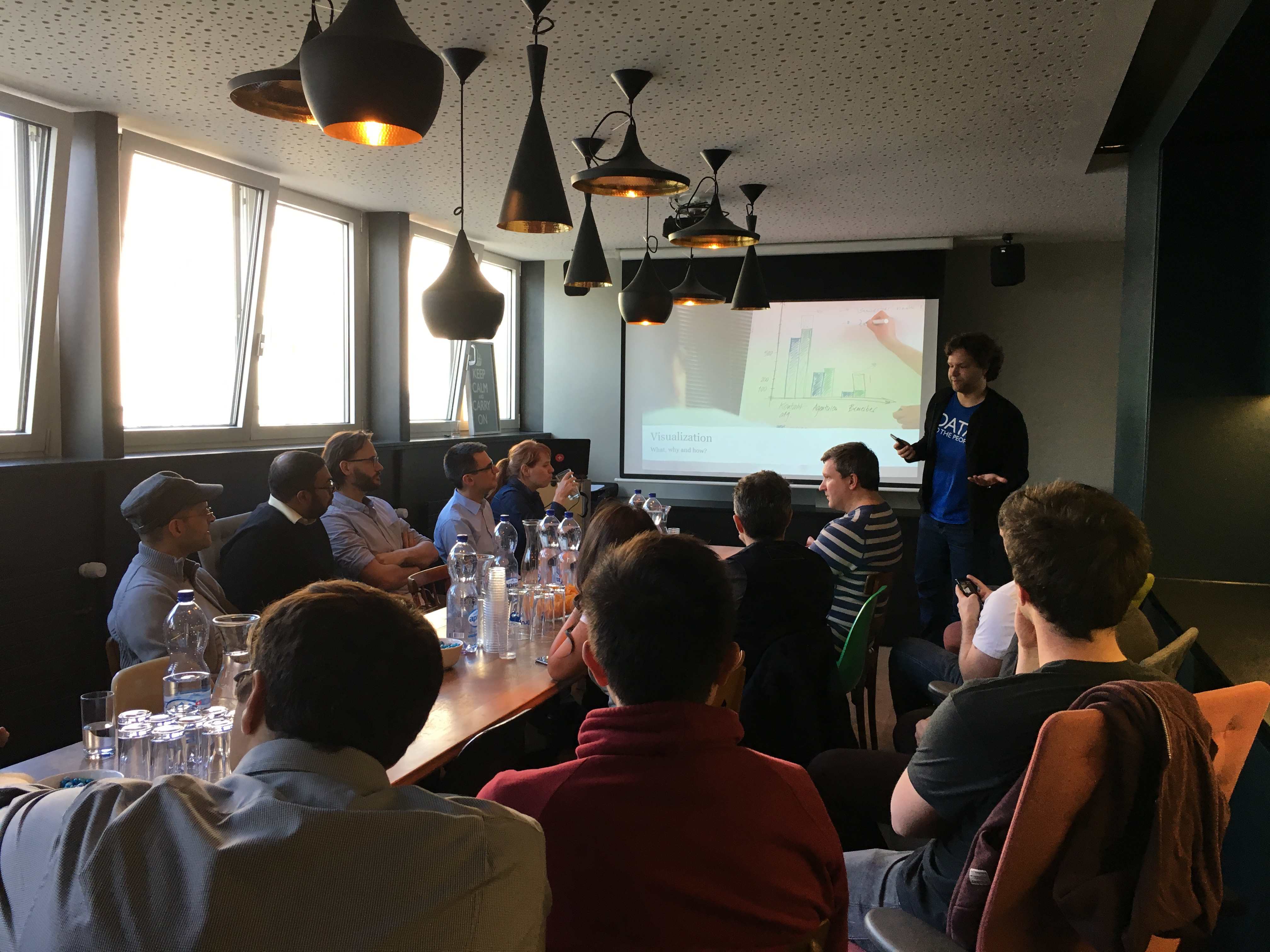 Analytics Roundtable in Zurich, 2016-04-20. © Christina Meyer: https://www.meetup.com/Analytics-Roundtable-Zurich/members/115830642/